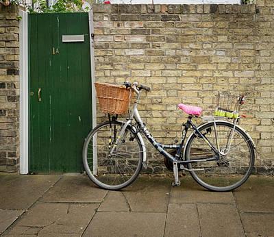 Photograph - Green Door by Jean Noren