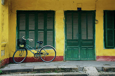 Photograph - Green Shutters by Ken Aaron