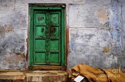 Photograph - Green Door by M G Whittingham