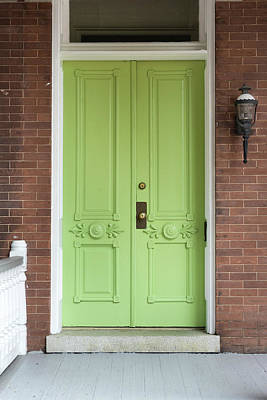 Photograph - Green Door by Sharon Popek