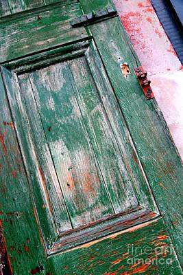 Photograph - Green Door In New Orleans by Carol Groenen