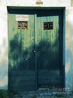 Photograph - Green Doors by Jan Daniels