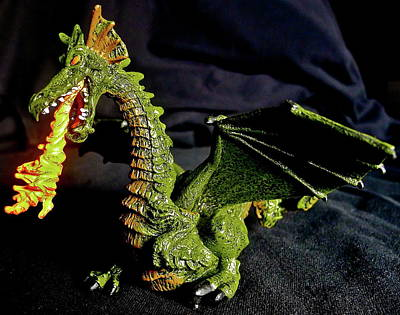 Photograph - Green Dragon by Denise Mazzocco