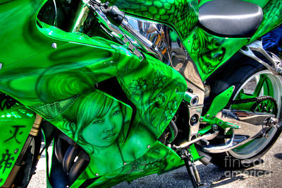 Photograph - Green Dream by Adrian LaRoque