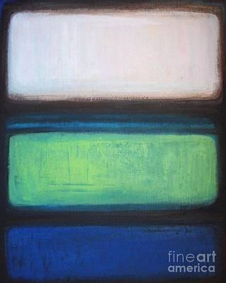 Painting - Green Effulgence by Vesna Antic