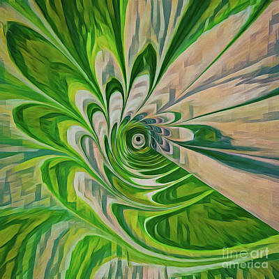 Photograph - Green Energy Spin by Patti Schulze