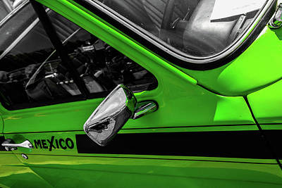 Photograph - green escort Mexico by Perggals - Stacey Turner