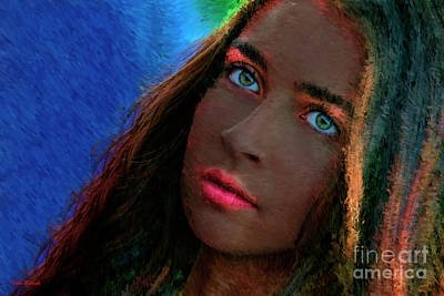 Photograph - Green Eyes by Blake Richards