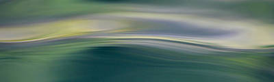 Photograph - Green Feather Water by Cathie Douglas