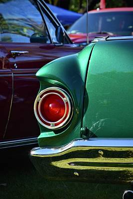 Photograph - Green Ford Ranchero Taillight by Dean Ferreira