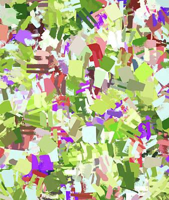 Digital Art - Green Freshness by Uma Gokhale