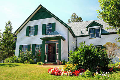 Photograph - Green Gables House, Cavendish, P.e.i by Gary Corbett