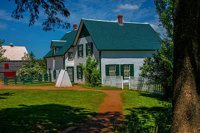 Photograph - Green Gables Seen From Lovers Lane by Patrick Boening