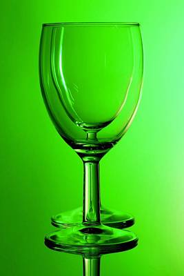 Photograph - Green Glasses by Keith Hawley