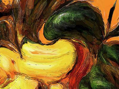 Digital Art - Green Grocer by Ian  MacDonald