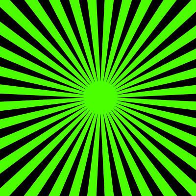 Digital Art - Green Harmony by Lucia Sirna