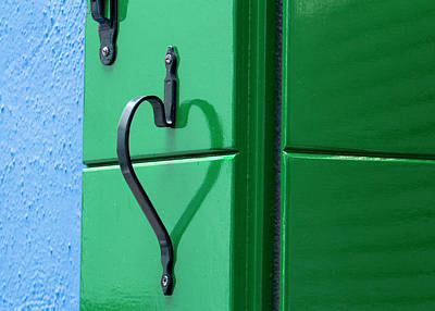 Photograph - Green Heart by Pietro Ebner