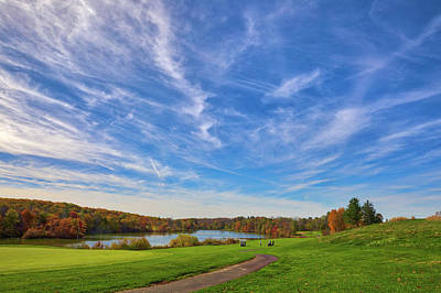 Photograph - Green Hill Golf Course  by Juergen Roth