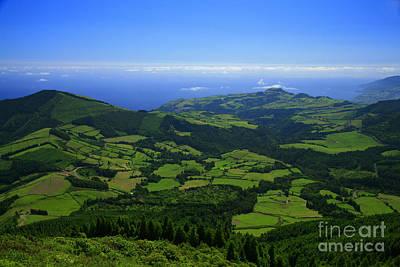 Azoren Photograph - Green Hills by Gaspar Avila