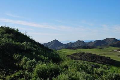 Photograph - Green Hills Landscape by Matt Harang