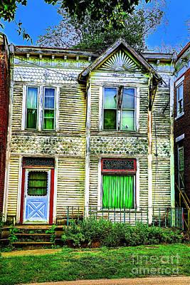 Photograph - Green House by Rick Bragan
