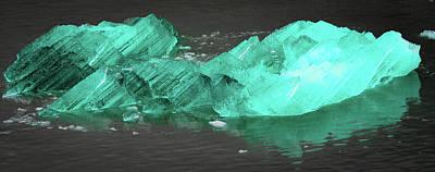 Photograph - Green Iceberg by Jason Brooks