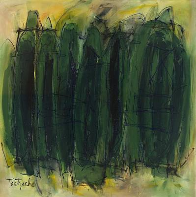 Green Is Good Art Print by Lynne Taetzsch
