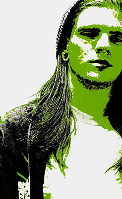 Green Is In Art Print