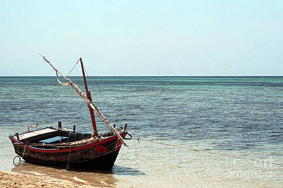 Photograph - Green Island Boat 01 by Rick Piper Photography
