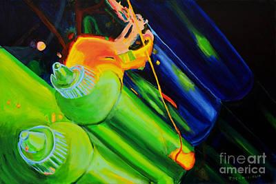 Painting - Bottles by Jock McGregor
