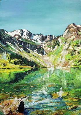 Green Lake Original by Daniel Bulimar Henciu