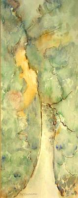 Painting - Green Lane by Naini Kumar