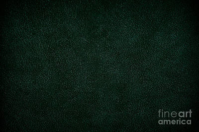 Lovely Lavender - Green Leather Sheet Texture Abstract by Arletta Cwalina
