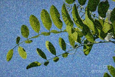Green Leaves 2 Art Print