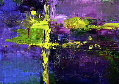 Painting - Green Light 2 by Nancy Merkle