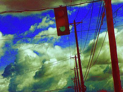 Photograph - Green Light by Lenore Senior