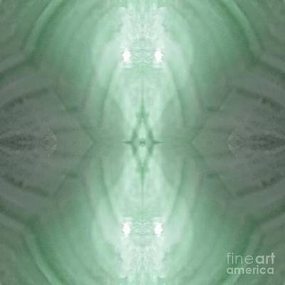 Digital Art - Green  Light Phantom by Rachel Hannah