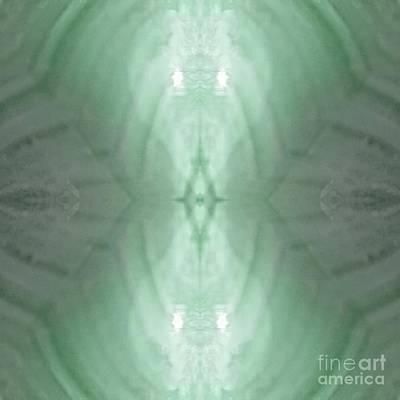 Digital Art - Green  Light Phantom by Rachel Hannah