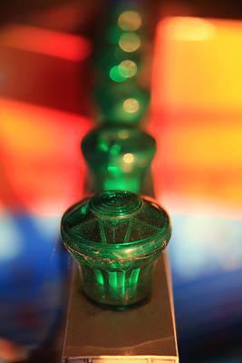 Photograph - Green Lights by Lora Lee Chapman