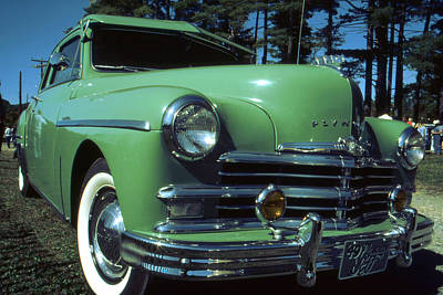 Photograph - American Limousine 1957 by Art America Gallery Peter Potter