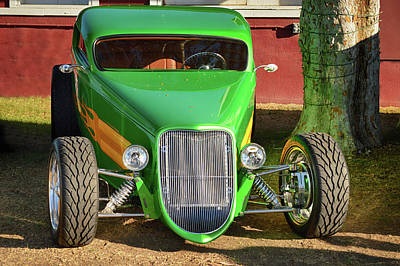 Photograph - Green Machine by Bill Dutting