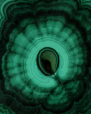 Photograph - Green Malachite Pattern by Jaroslaw Blaminsky