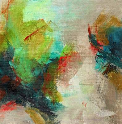 Painting - Blue Green by Suzzanna Frank