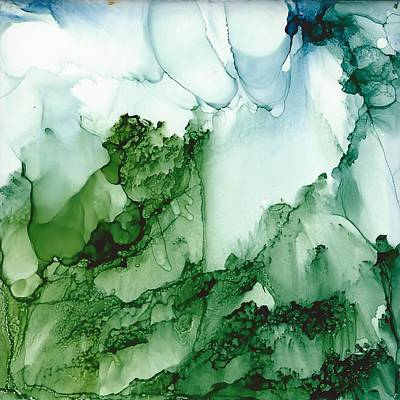 Painting - Green Mansions by Gerry Morgan