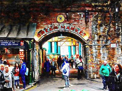 Photograph - Green Market At Borough Market  by Dorothy Berry-Lound