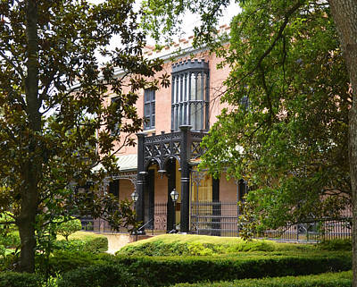 Photograph - Green-meldrim House In Savannah Georgia by Carla Parris