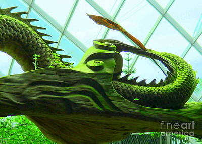 Photograph - Green Monster by Randall Weidner