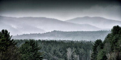 Art Print featuring the photograph Green Mountain National Forest - Vermont by Brendan Reals