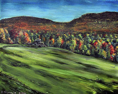 Painting - Green Mountain Retreat by Denny Morreale
