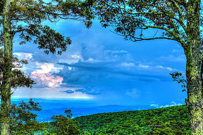 Photograph - Green Mountain Storm by Dale R Carlson
